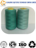 Hilo de coser de costura de la tela del bordado del poliester de la Alto-Tenacidad