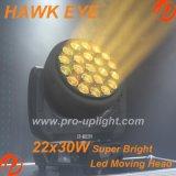 2018 indicatore luminoso capo mobile caldo dell'occhio LED del falco dell'B-Occhio 22X30W RGBW 4in1 di vendita