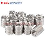 Conjunto de kit de inserção de reparo de linha de fio de aço inoxidável L4010 M5