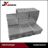 Base de aluminio de cambiador de calor de la barra de la placa de la alta calidad
