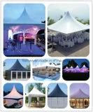 La pagode de jardin en PVC de plein air partie tente pour mariage.