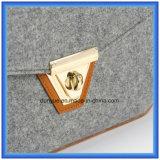 Мешок посыльного детенышей подгонянный конструкцией чувствуемый шерстями вскользь, горячий мешок плеча покупкы промотирования с регулируемым поясом PU кожаный