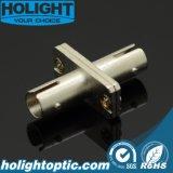 St Adapter van het Metaal van Multimode Vezel de Optische met Flens