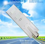Bewegungs-Fühler des Garten-30W der Lampen-PIR integrierte alle in einem Solarstraßenlaterne