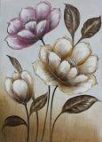 Decoratief Met de hand gemaakt BloemenOlieverfschilderij