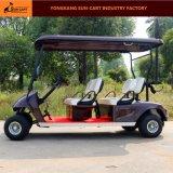 セリウムは4 Seaterのゴルフコースのための電気ゴルフカートを証明した