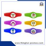 Wristbands del silicone di marchio impressi marchio su ordinazione