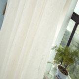 고아한 실내 장식품 리넨 단단한 보일 투명한 커튼 직물 (18F0103)