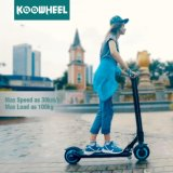 Koowheel портативная пишущая машинка 8 дюймов складывая электрический самокат пинком с батареей Samsung