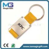 중국 공장 Keychain 제작자 특별한 가죽 금속 Keychain