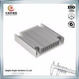 L'OEM di alluminio il dissipatore di calore di alluminio della pressofusione con il rivestimento della polvere