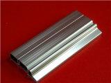 profil en aluminium anodisé lumineux d'extrusion de la couleur 6063t5 normale