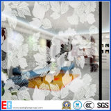 La glace de configuration repérée par acide neuf chaud de configuration de vente/acide a repéré la glace