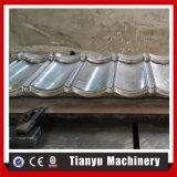 石造りの上塗を施してある金属の屋根シートのタイルは機械を形作ることを冷間圧延する