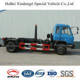 opheffende Vuilnisauto van het Wapen van 4 Haak van Wastebin van de Container van het Vuilnis Dongfeng van 12cbm de Euro