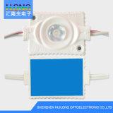 CE/RoHS resistente al agua de inyección de 3W módulo LED para iluminación de anuncios