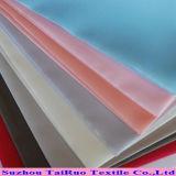 210t de textiel Met een laag bedekte Taf van Pu pvc voor Regenjas