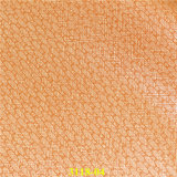 Embossing Woven Grain Fashion Accessories PU Synthetic Leather