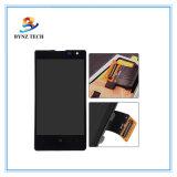 Visualizzazione mobile dell'affissione a cristalli liquidi dello schermo di tocco del telefono delle cellule per l'Assemblea del convertitore analogico/digitale dello schermo di tocco N1020 di Nokia Lumia 1020