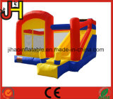 Deslice el rebote inflable Castillo Casa Puente Moonwalk Bouncer