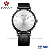 Relógio luxuoso dos tipos de quartzo relativo à promoção profissional de Swissing da elegância do logotipo