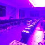 Indoor Stage 54X3W Ly China LED PAR Can Luz UV
