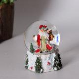 Bol van de Sneeuw van de Kerstman van de Kwaliteit van de hars de Beste met Verschillende Grootte