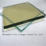 12mm de alto rendimiento en línea Low-E el revestimiento de vidrio Ahorro de energía para la arquitectura