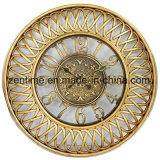 El reloj de pared grande del marco del metal en el diseño de Qualty para la decoración casera