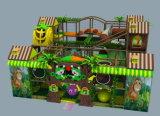 子供のプラスチックスライドの森林組合せのスライド 屋外のPlaygroud