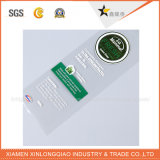 로고 스티커를 인쇄하는 길쌈된 주문 직물 꼬리표 접착성 의복 레이블