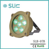 6*3W RGB LED Unterwasserswimmingpool-Licht
