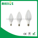 Aluminio LED de maíz de luz con forma de oliva aprobación del CE RoHS