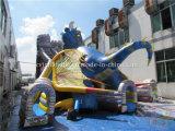 Trasparenza gigante del castello gonfiabile di attacco del drago di legenda