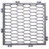 Décoratif en métal expansé en aluminium
