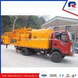 Hidráulico Diesel sobre camión hormigonera Bomba para la venta