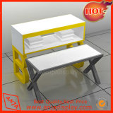 상점 전시를 위한 금속 전시 테이블 대