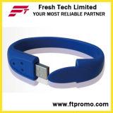 Azionamento dell'istantaneo del USB del Wristband del silicone (D191)