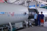 HDPE Plastikentwässerung-Rohr-Strangpresßling-Zeile Umhüllungen-Rohr-Strangpresßling-Zeile