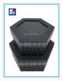 Caja de embalaje de forma regular personalizada con ventana y cartón