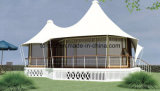 Outdoor Holiday Tent Living Wooden House para lua de mel ou relaxamento