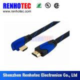 Conector de ángulo recto y recto de HDMI
