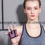 手袋重量挙げの-交差訓練の適当な運動選手のためのグリッパーのカルスの監視Wodの試しの手袋-高められたシリコーンのグリップのやしEsg10139