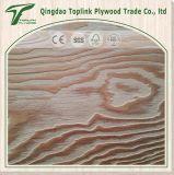 Contre-plaqué de dessin gravé en relief par bois de mélèze de qualité pour les meubles ou la décoration