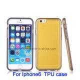 Нестандартная конструкция ясной крышки телефона мягкая TPU + крепко случай iPhone PC