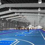 Edificio ligero moderno del patio del baloncesto de la estructura de acero