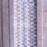 Mosaico de agua dulce del color 10*20m m de la naturaleza del shell