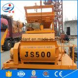 Mélangeur concret d'arbre de double de la grande capacité Js500