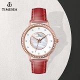 De Diamant Watch71276 van het Roestvrij staal van de Polshorloges van de Gift van het Kwarts van de Dames van het kristal