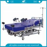 AG C101A02b 세륨 ISO는 4개의 피마자 부인과학 병원 환자 침대로 승인했다